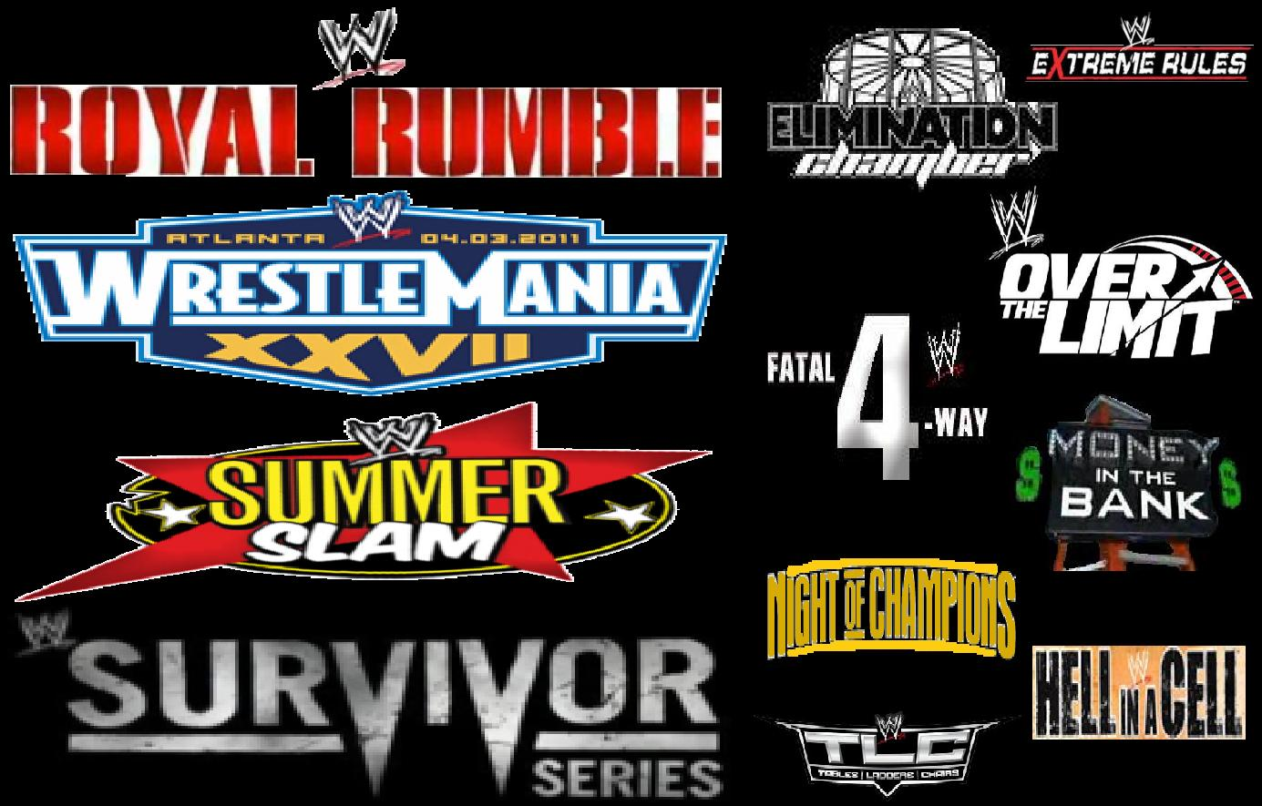 Wwe Pay Per View Schedule 2015 | Examples and Forms
