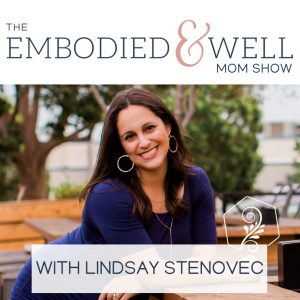 The Embodied & Well Mom Show: Motherhood, Wellness, Body Image and Intuitive Eating with Lindsay Stenovec