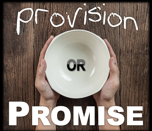 Provision or Promise (Full Message)