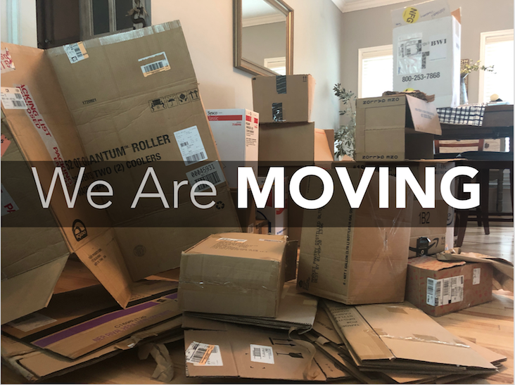 We Are Moving (Full Message)
