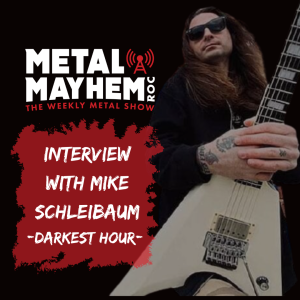 Darkest Hour-Guitarist Mike Schleibaum discusses the new Live in Lockdown cd and jamming metal for 25 years!