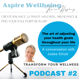 The art of adjusting your wellness goals throughout life to feel balanced and happy within