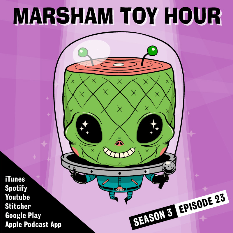 Marsham Toy Hour: Season 3 Ep 23 - Stupid Foil Wrappers