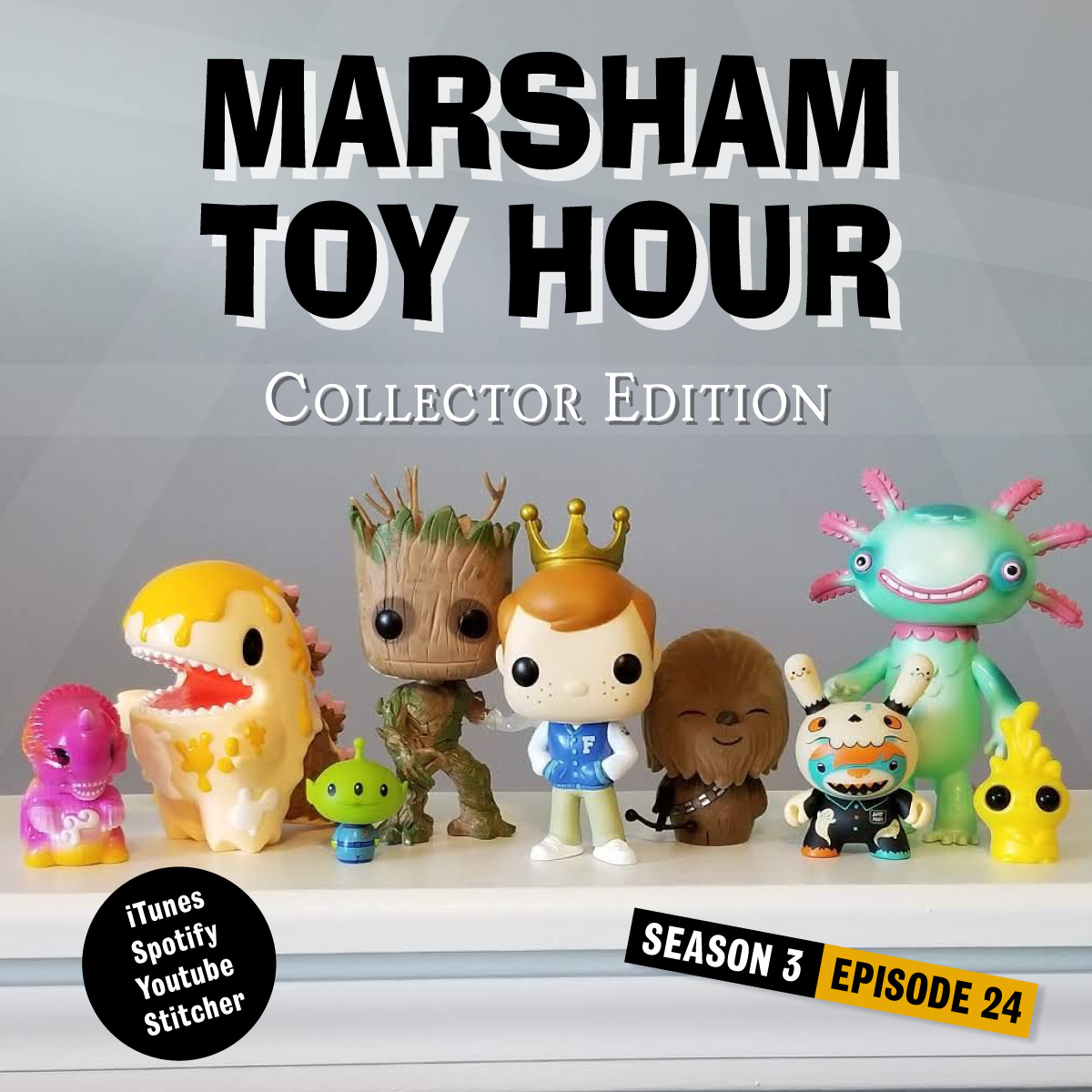 Marsham Toy Hour: Season 3 Ep 24 - Collector Edition #5