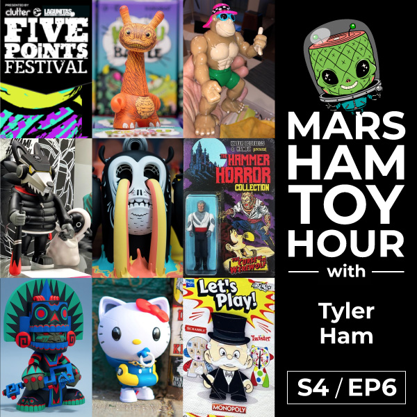Marsham Toy Hour: Season 4 Ep 6 - Ham Sandwich with a Sideshow of Unruly Bootlegs