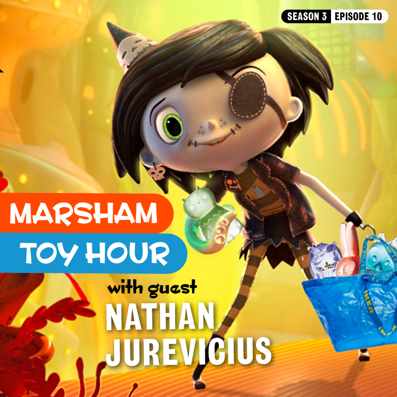 Marsham Toy Hour: Season 3 Ep 10 - Nathan Jurevicius