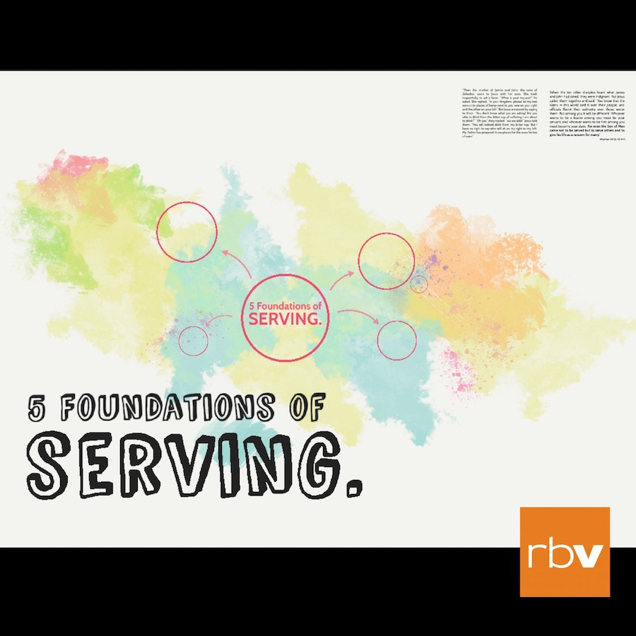 Five Principles on Serving