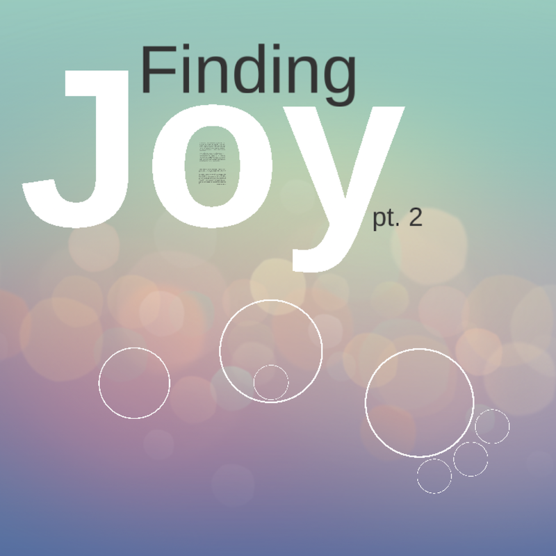 Finding Joy: Worship, Suffering, and the Joy of New Creation
