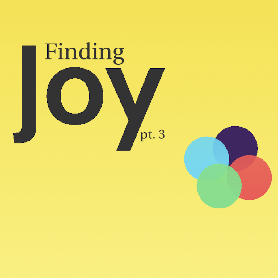 Finding Joy: Awareness, Thanksgiving, Contentment, & Peace