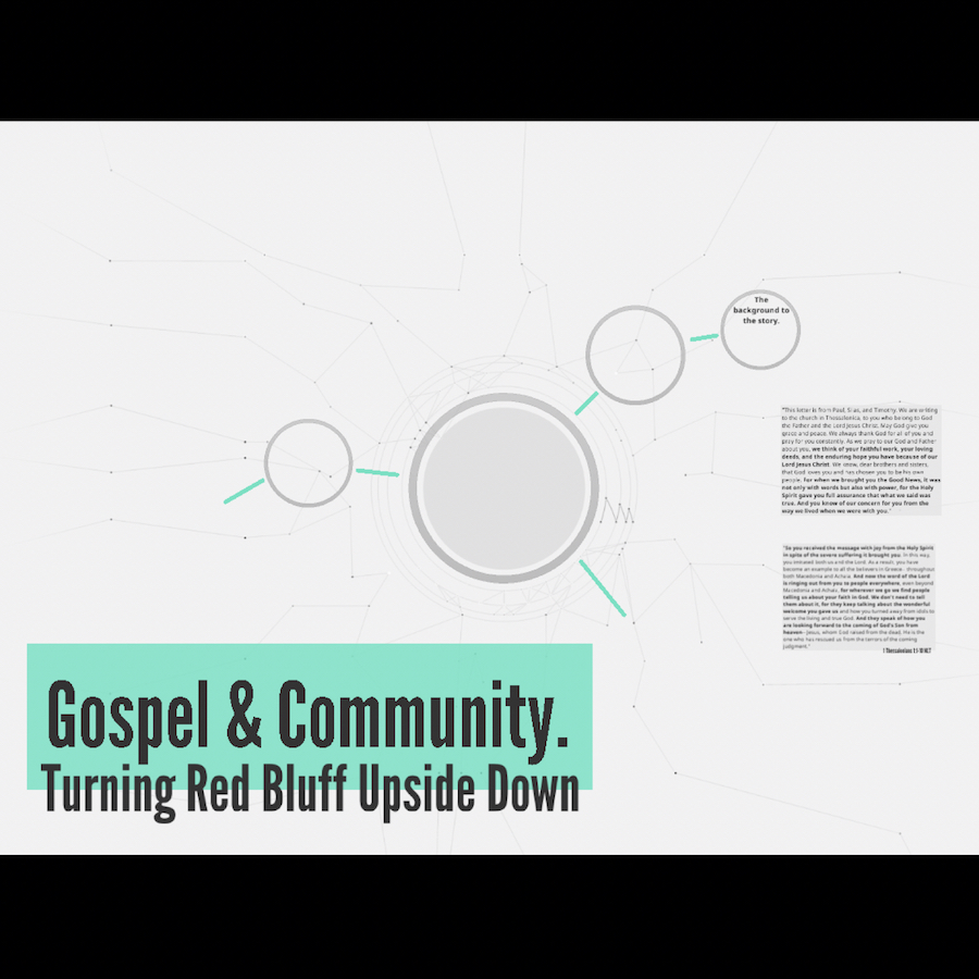Gospel & Community: Turning Red Bluff Upside Down