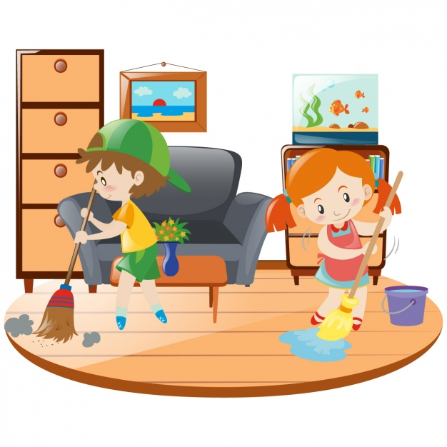 Frantic Friday Family Cleaning Party