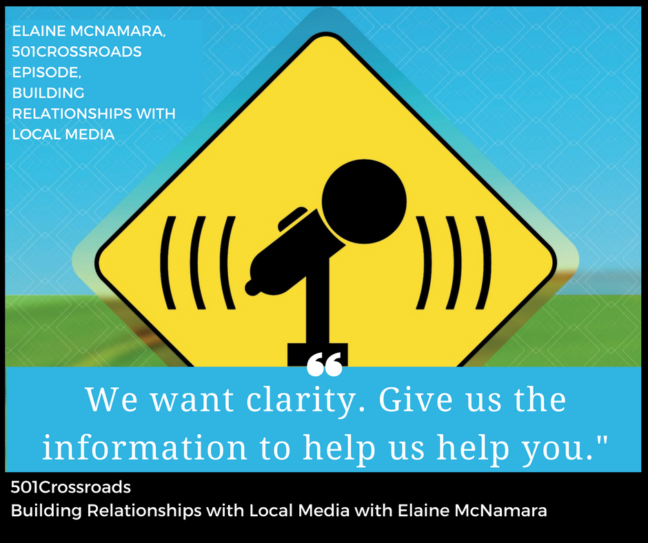 Building Relationships with Local Media with Elaine McNamara