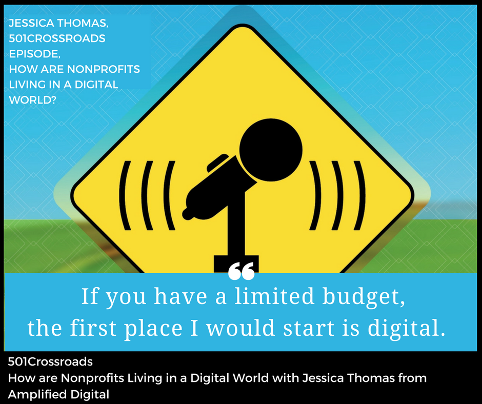 How are Nonprofits Living in a Digital World with Jessica Thomas from Amplified Digital