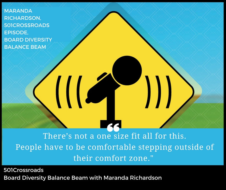 Board Diversity Balance Beam with Maranda Richardson of MWR Consulting