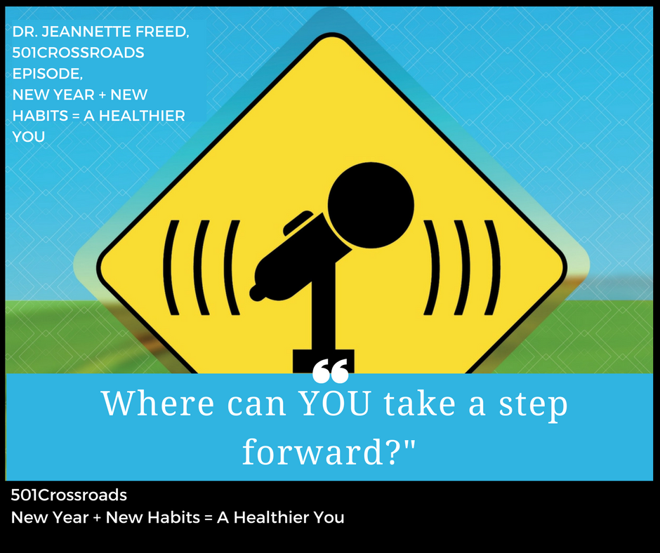 New Year + New Habits = A Healthier You with Dr. Jeannette Freed of Freed Family Fitness
