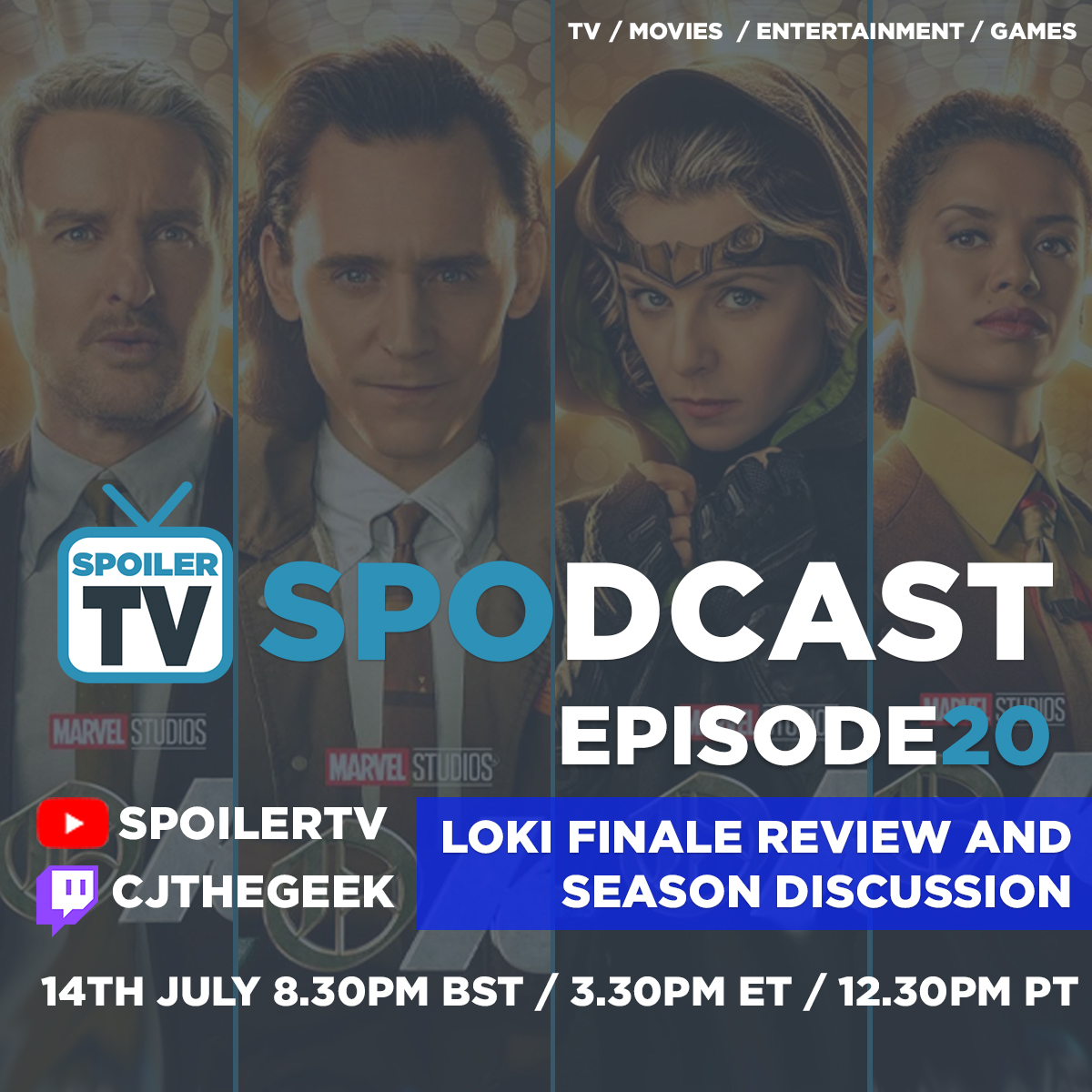 Loki Finale Review and Season Discussion - SpoilerTV Spodcast 20