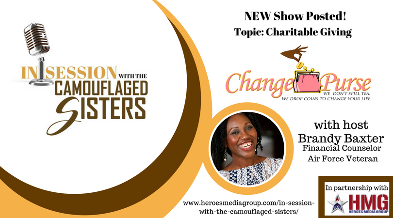 Change Purse With Brandy Baxter - Charitable Giving