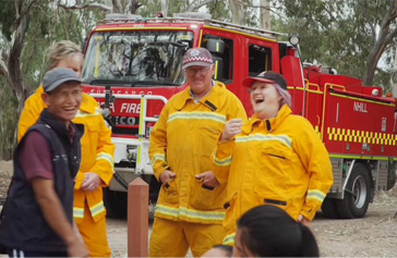 Community embraces refugees and bushfire safety