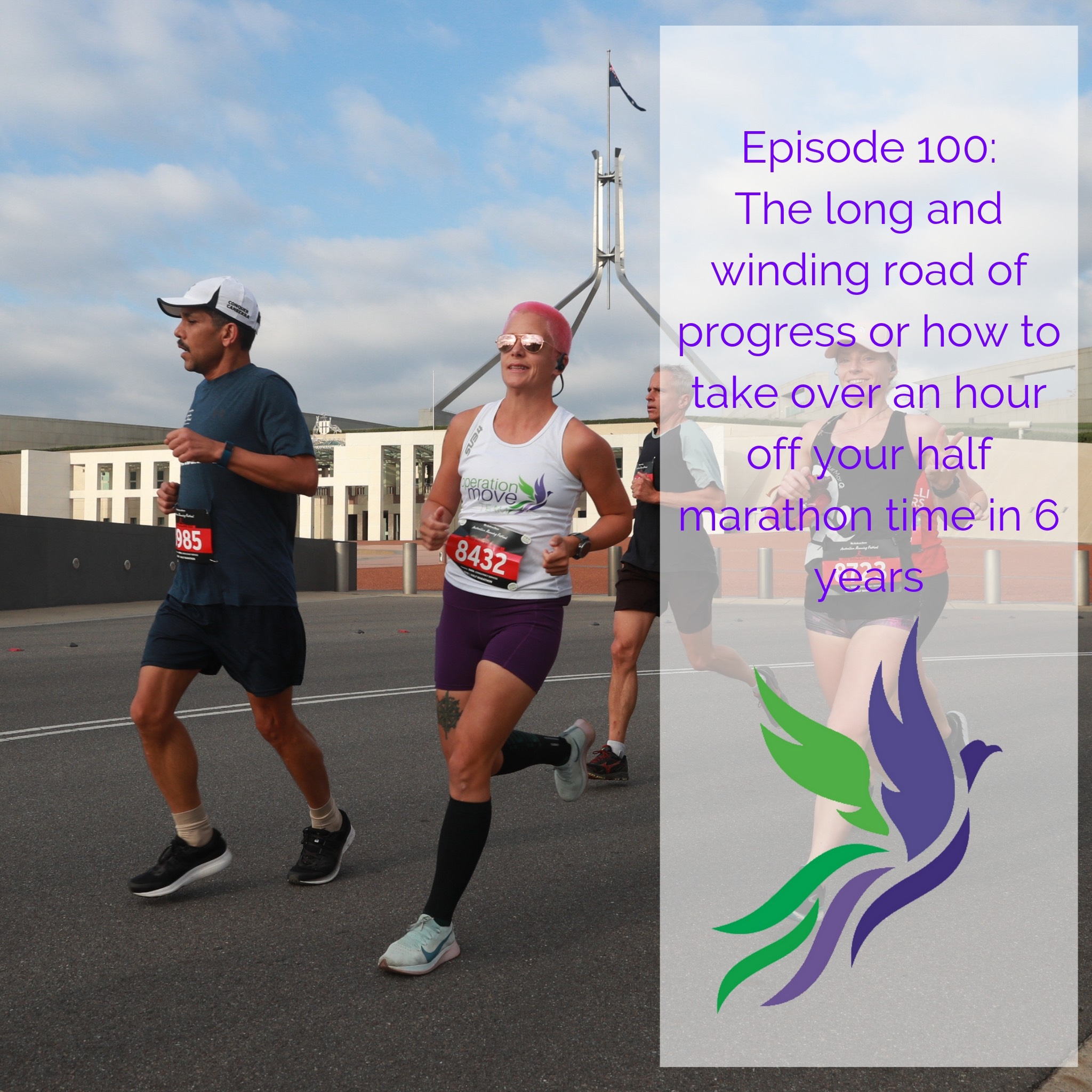 #100 The long and winding road of progress or how to take over an hour off your half marathon time in 6 years
