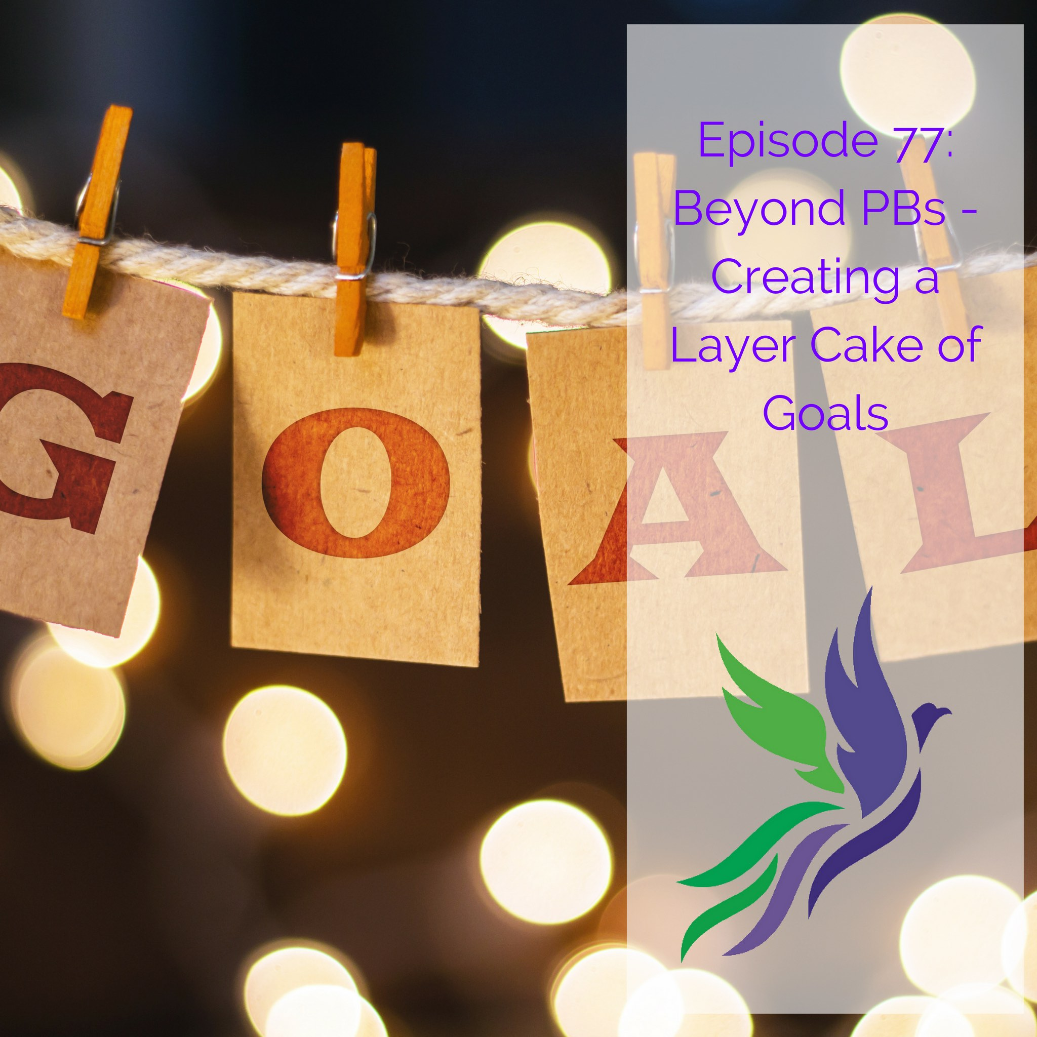#77 Beyond PBs - Creating a Layer Cake of Goals