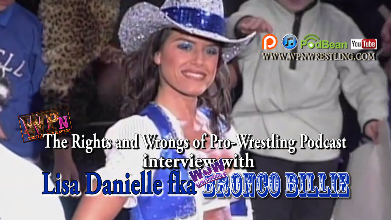 Shoot Interview with WOW's Bronco Billie [Lisa Danielle]