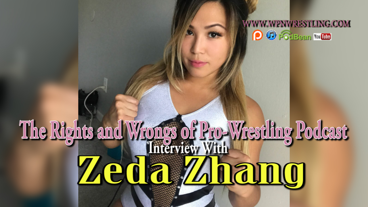 Interview with MLW wrestling star Zeda Zhang