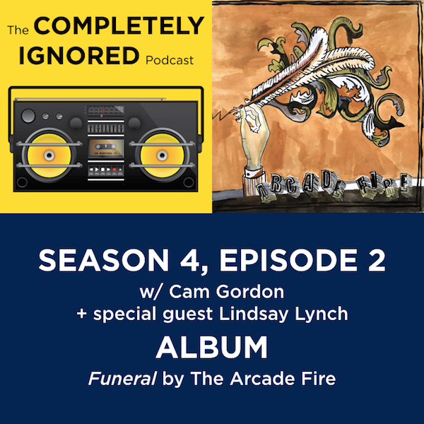 S4, E2: Funeral by the Arcade Fire