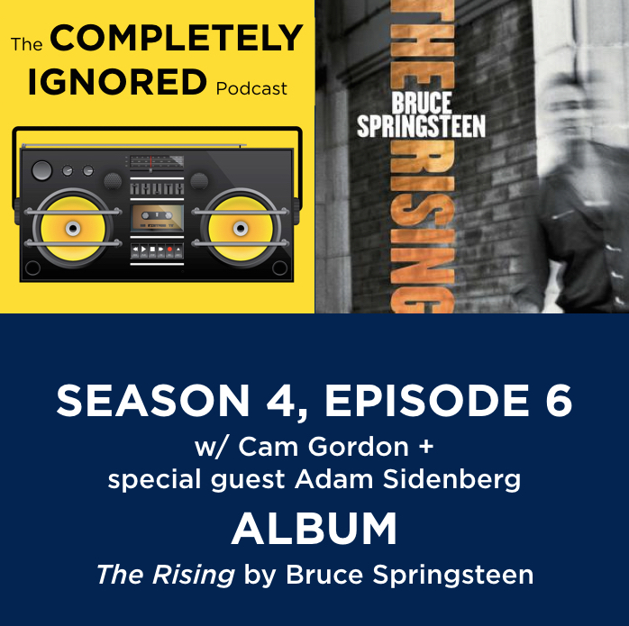 S4, E6: The Rising by Bruce Springsteen