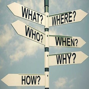 Sermon Audio:  Easter 6 Who, what, where, when, why and how