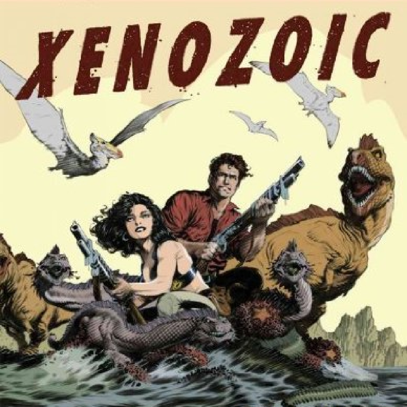 Xenozoic Xenophiles Episode 14: Mark Schultz Interview