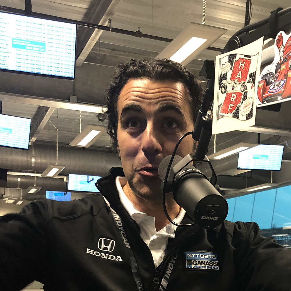 MP 552: The Day At Indy, May 16, with Dario Franchitti, Elton Julian, and James Davison