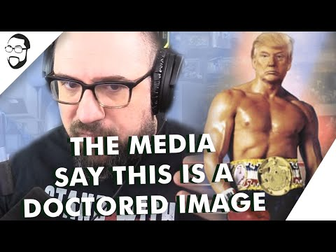 The Media Say This Is A Doctored Image