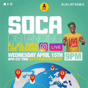 LIVE SESSION: SOCA DISTANCING APRIL 15