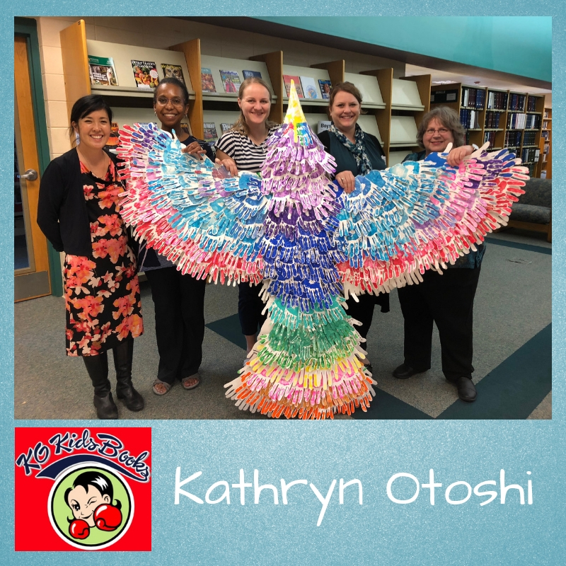 Kathryn Otoshi, Children's Author and Illustrator - Episode 65