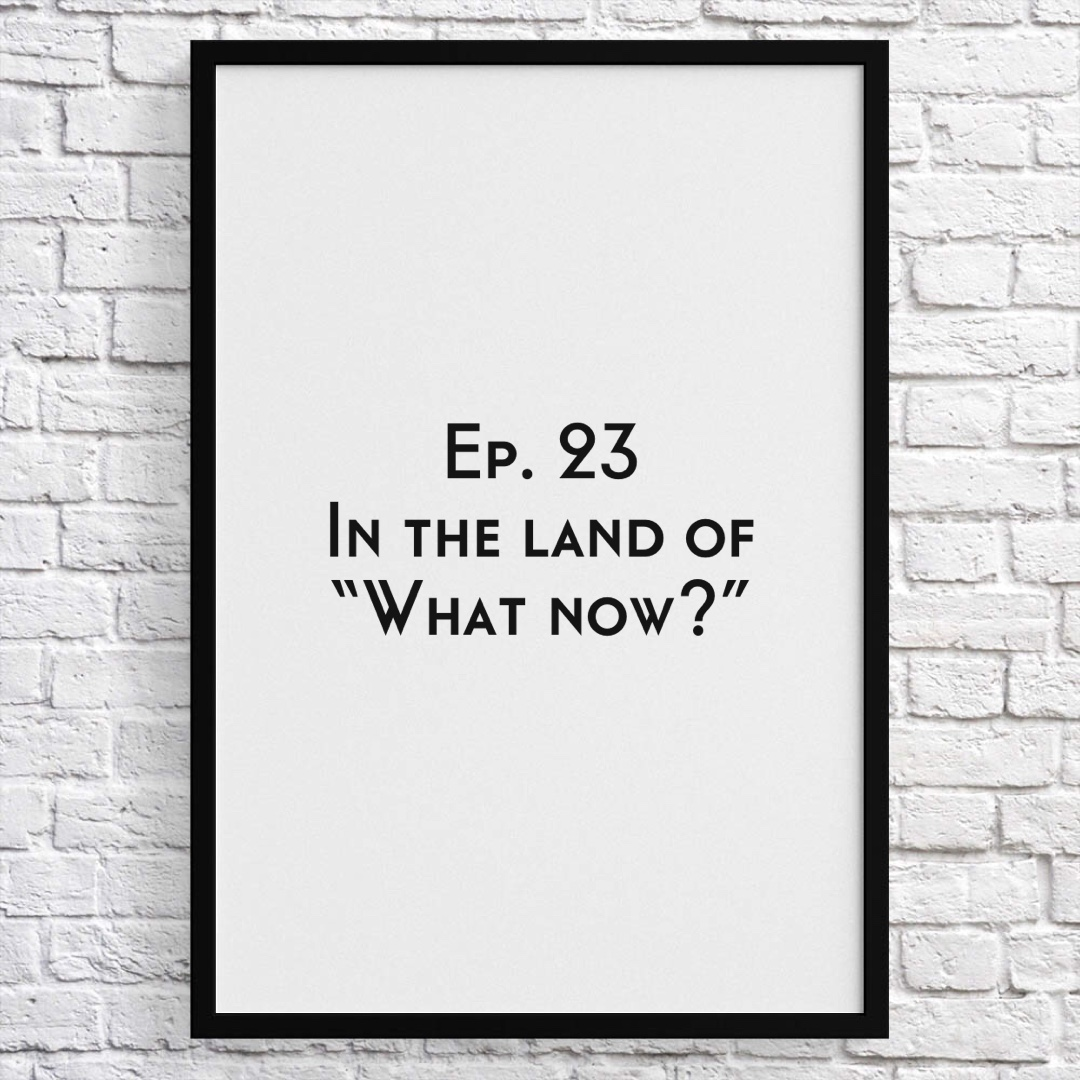 Ep 23 - In the land of What Now