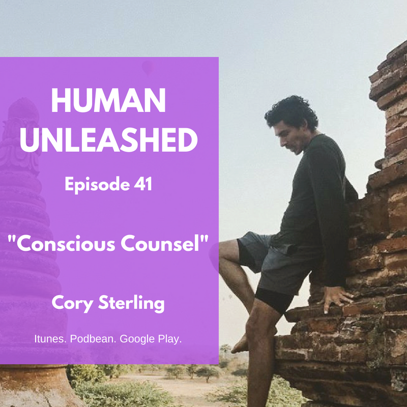 41: Conscious Counsel With Cory Sterling