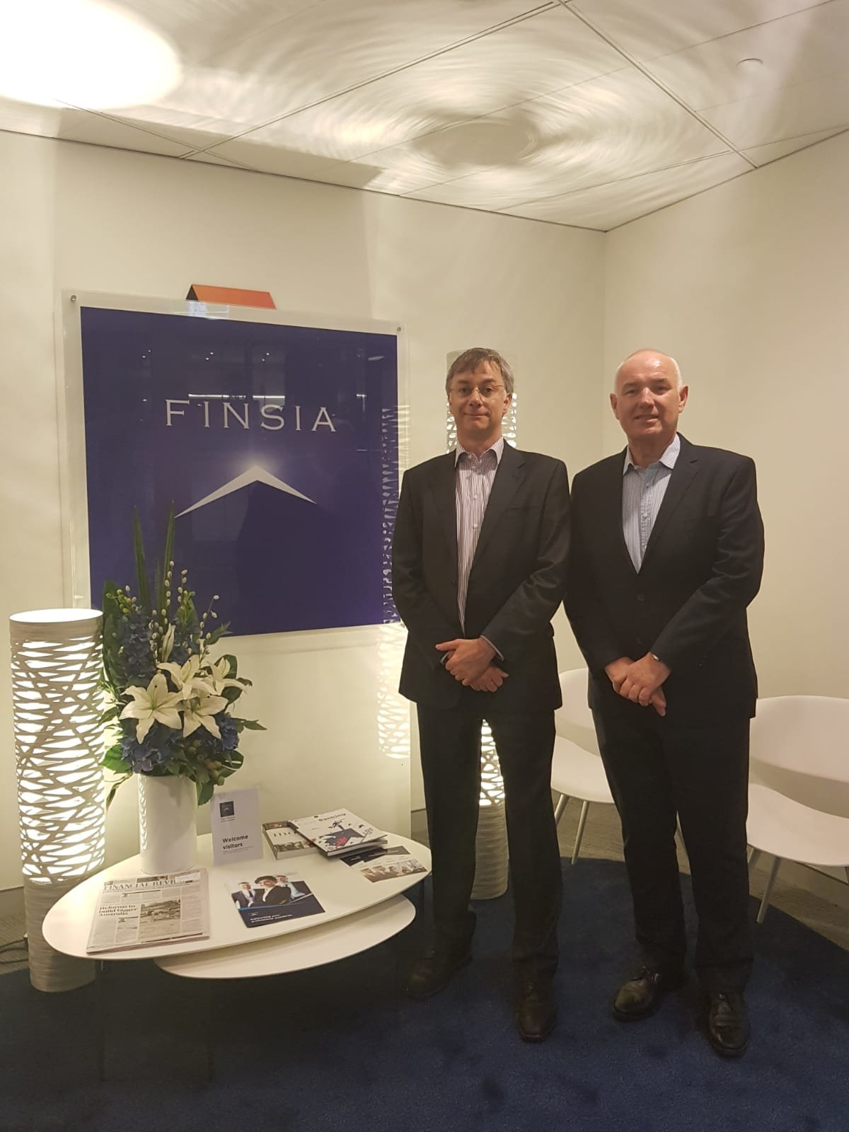 Professional Qualifications, Royal Commission submission and the UK experience - Chris Whitehead, CEO FINSIA and Giles Cuthbert, Managing Director CBI