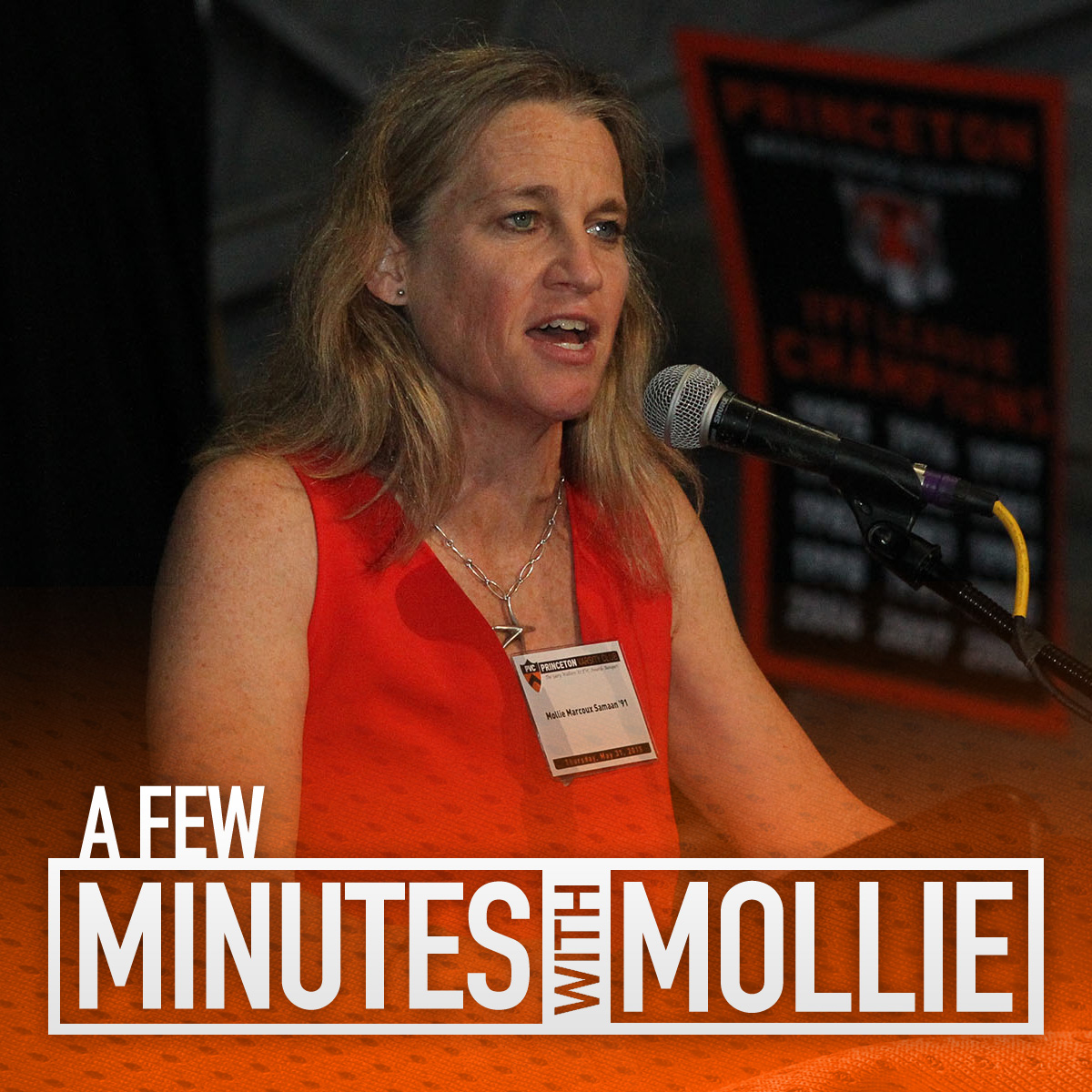 A Few Minutes With Mollie Marcoux Samaan