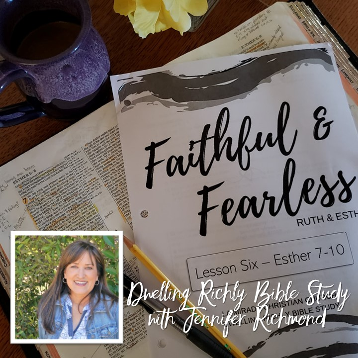 Faithful and Fearless: Lesson 6/Day 3, Esther 7:1-10