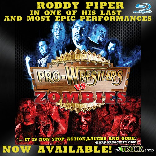 Pro Wrestlers vs. Zombies (w/Ryan Gilbert)