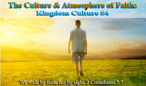 "Pastor Kimi Hill speaking on ""The Culture & Atmosphere of Faith: Kingdom Culure #4!"