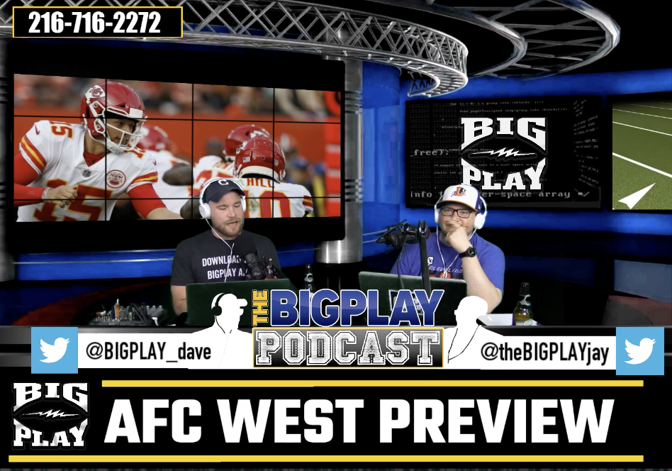 AFC West preview pre-draft, NFL draft w/ Joe Draime and NBA Playoffs w/ Scoop B!