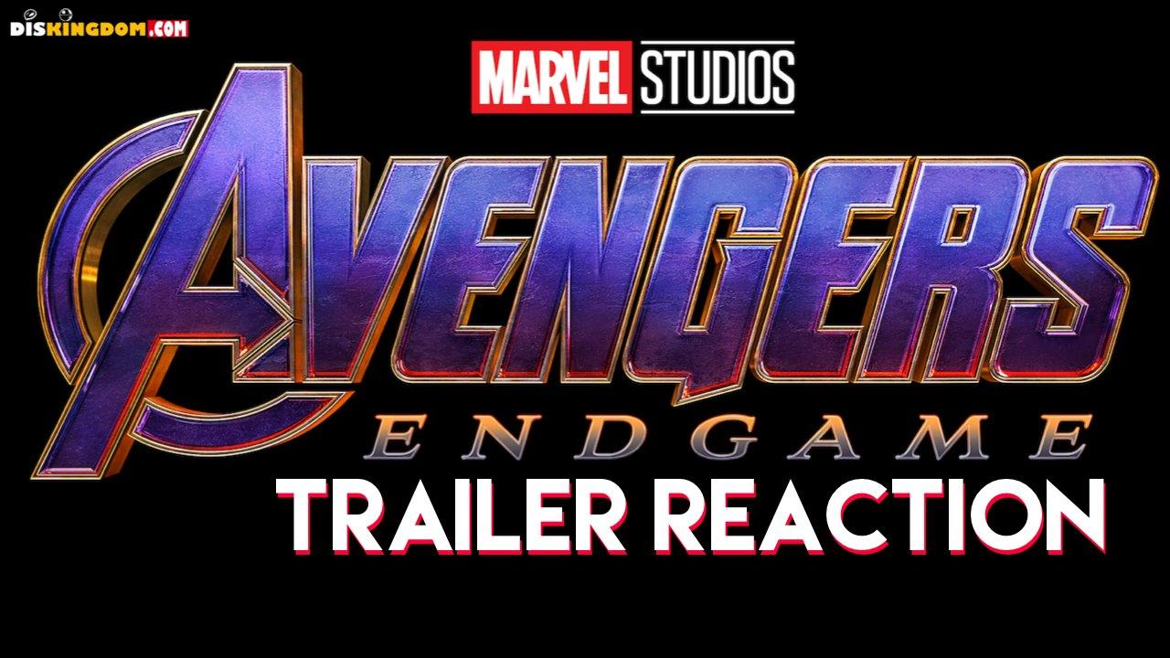 Our Marvel Avengers: Endgame Teaser Trailer Reactions