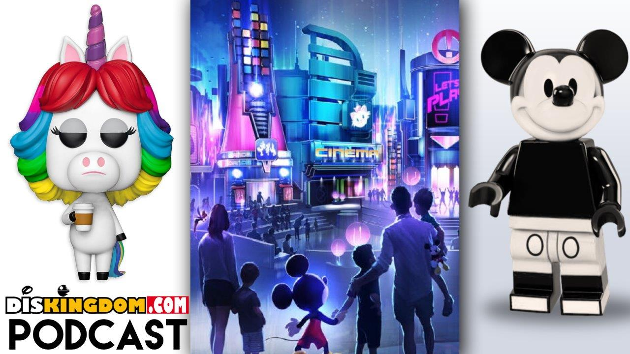 New Epcot Play Pavilion, LEGO Idea Steamboat Willie Announced & Much More | DisKingdom Podcast