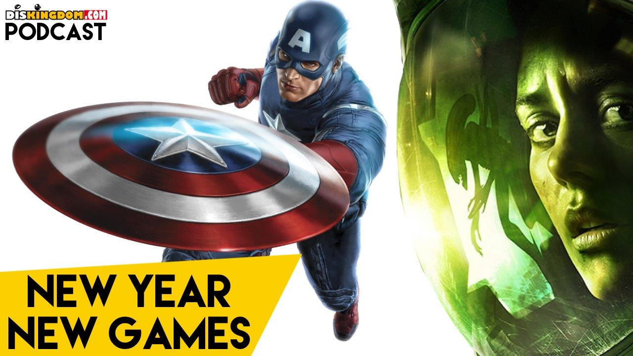 New Alien & Marvel Games Coming Soon + Much More  | DisKingdom Podcast
