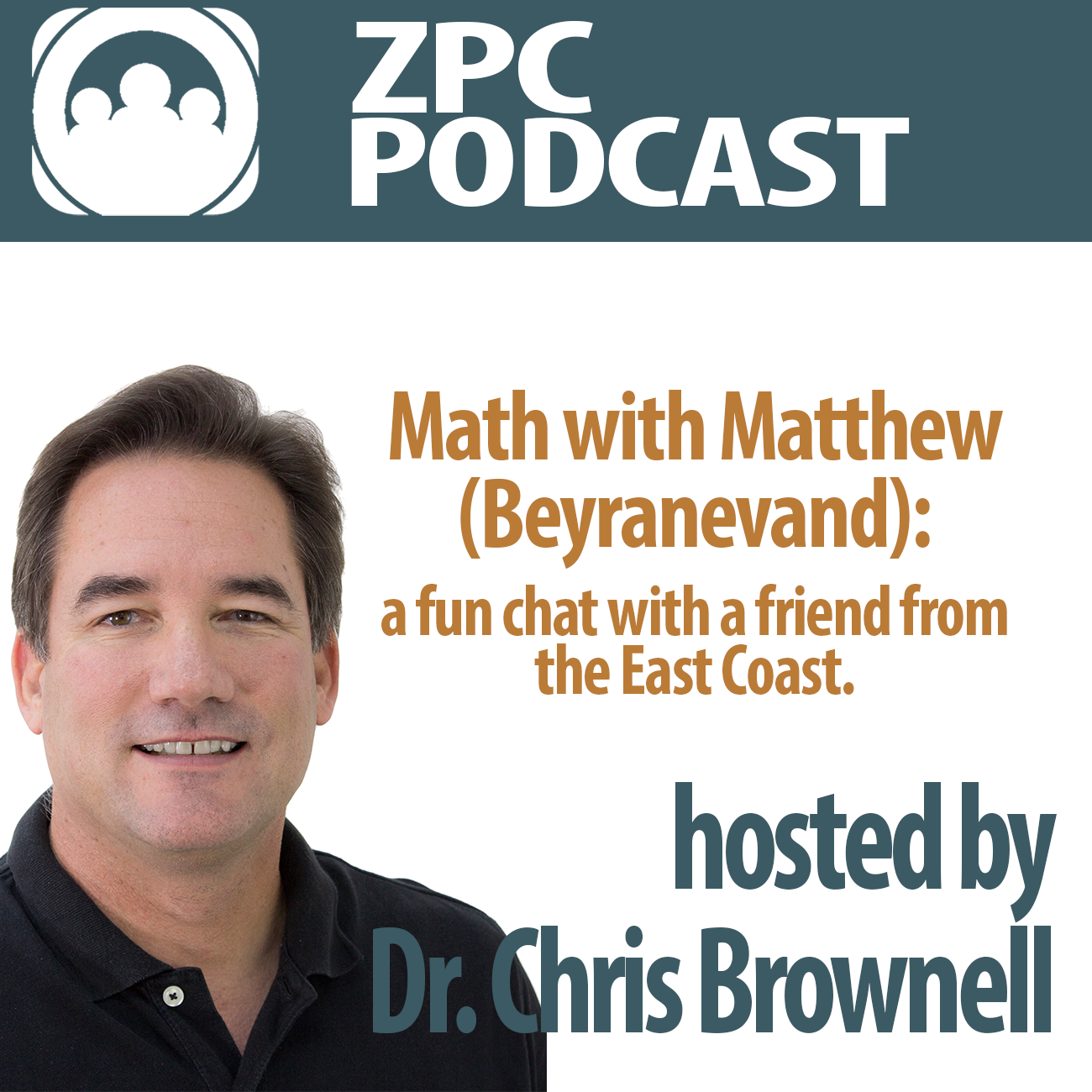Episode 15 | Math with Matthew (Beyranevand): a fun chat with a friend from the East Coast.