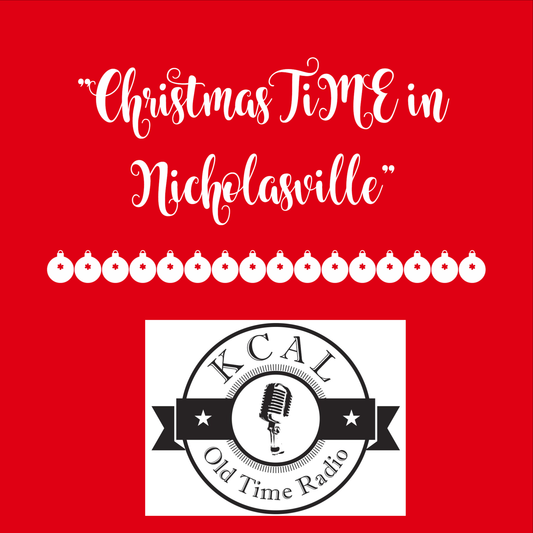 """""""ChristmasTiME in Nicholasville"""" from the 2017 KCAL Christmas Show"""