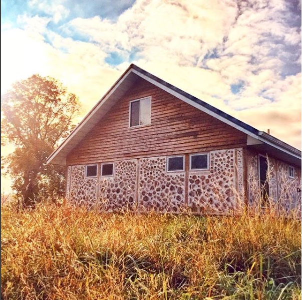 Building a Cordwood Home with the Accidental Hippies