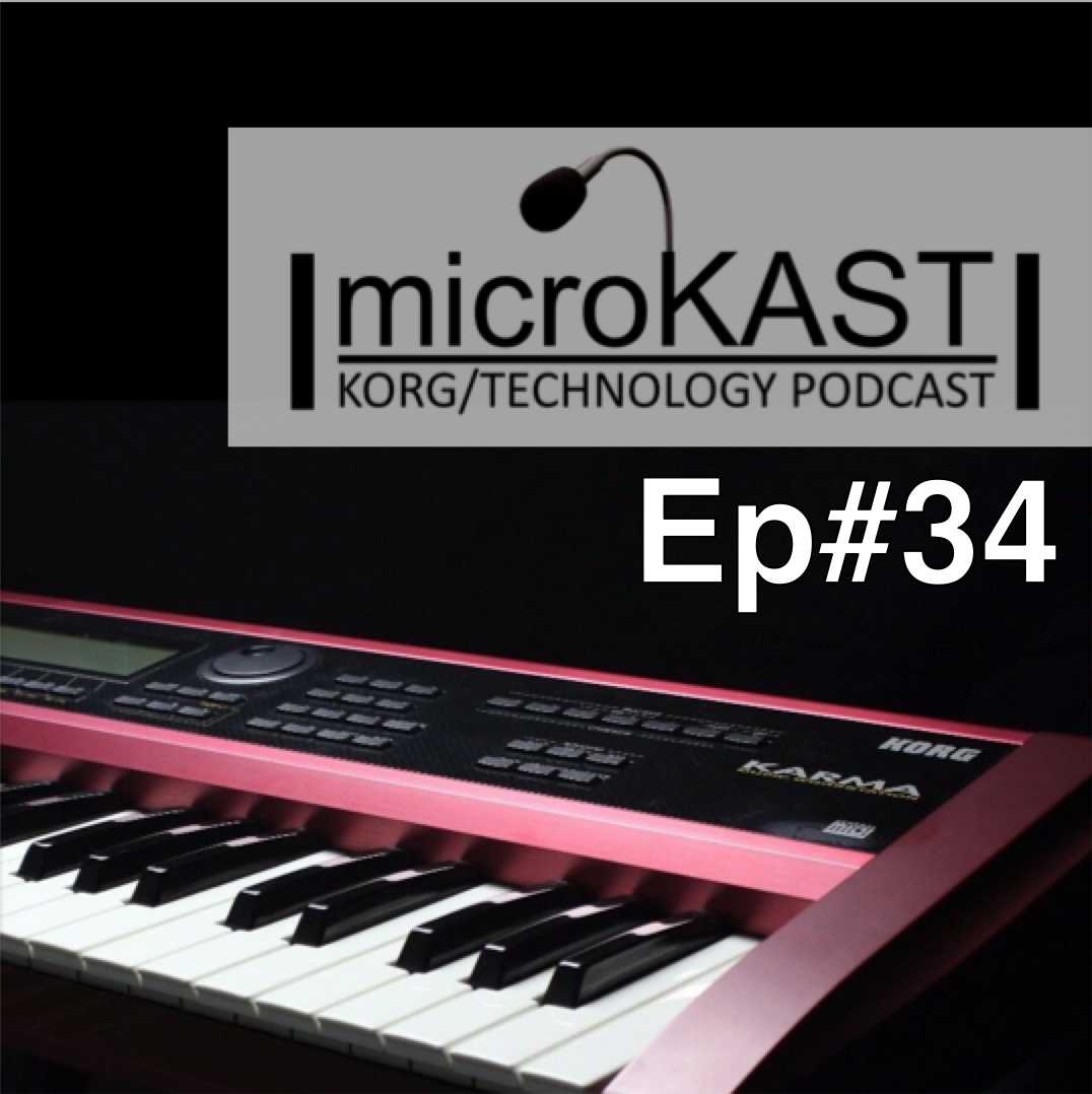 KORG microKAST Podcast