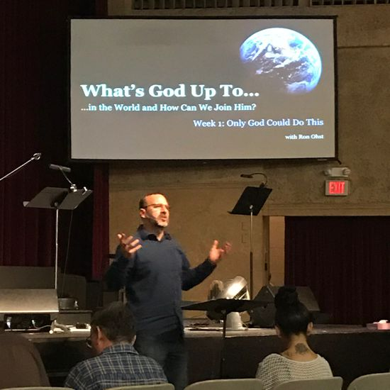 JOINING IN WITH GOD TO REACH THE WORLD P1- w/RON OHST